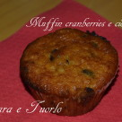 Muffin cranberries e cioccolato_1